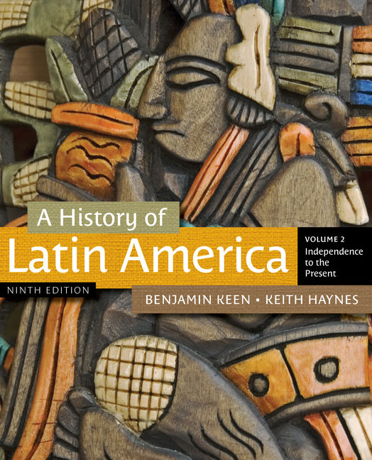 A History of Latin America, Volume 2 - 9781111841416(Print)