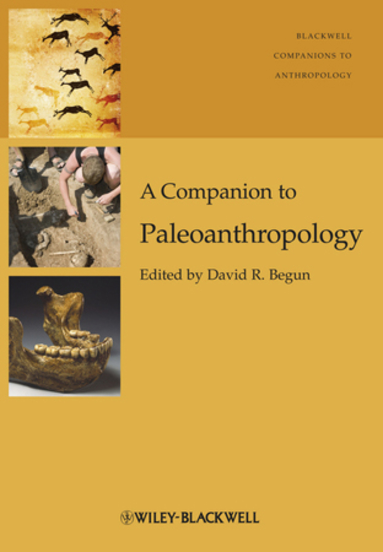 A Companion to Paleoanthropology - 9781118332375