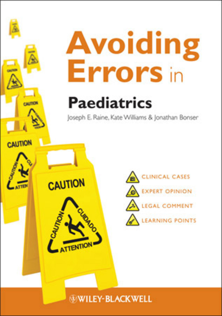 Avoiding Errors in Paediatrics - 9781118441954