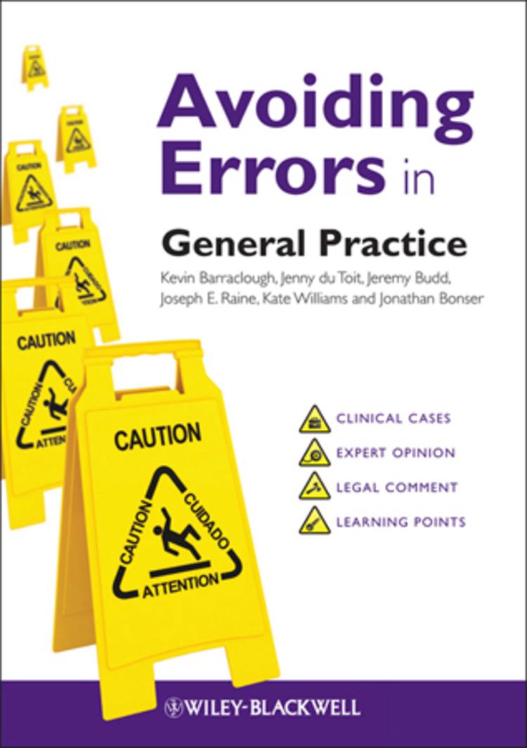 Avoiding Errors in General Practice - 9781118508893