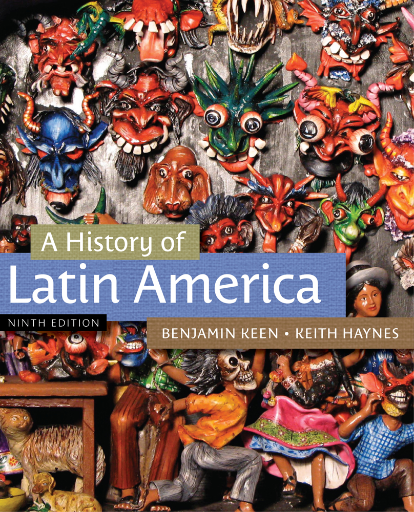 A History of Latin America - 9781133050506(Print)