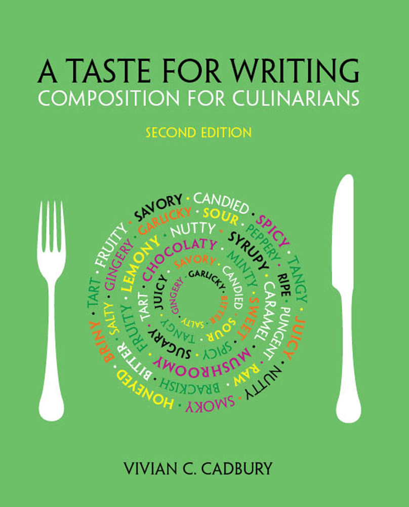 A Taste for Writing: Composition for Culinarians - 9781133277910(Print)