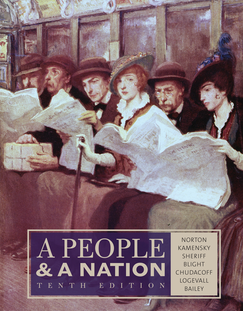 A People and a Nation: A History of the United States - 9781133312727(Print)