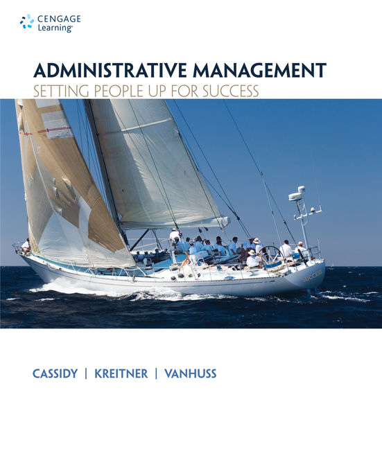 Administrative Management: Setting People Up for Success - 9781133365174(Print)