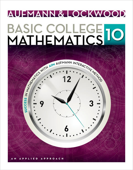 Basic College Mathematics: An Applied Approach - 9781133365440(Print)