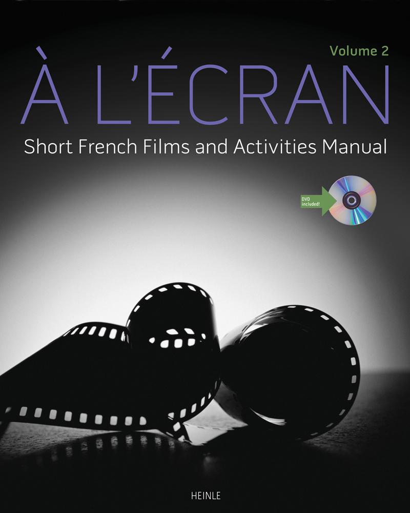 À l'écran: Short French Films and Activities, Volume 2 - 9781133434139(Print)