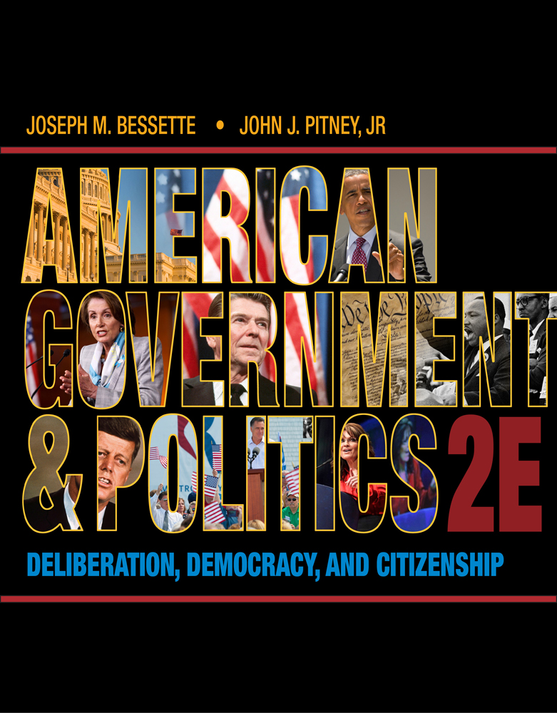 American Government and Politics: Deliberation, Democracy and Citizenship - 9781133587897(Print)
