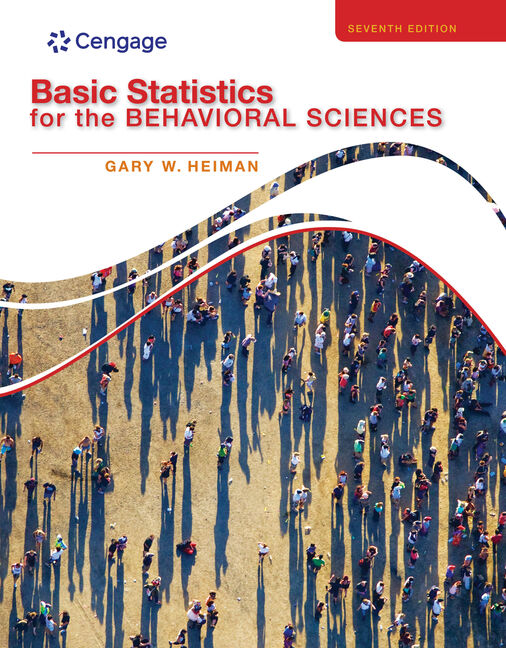 Basic Statistics for the Behavioral Sciences - 9781133956525(Print)
