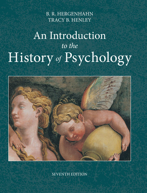 An Introduction to the History of Psychology - 9781133958093(Print)