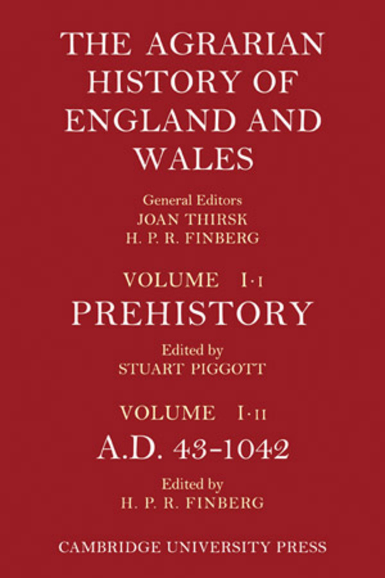 Agrarian History England Wales - 9781139136273