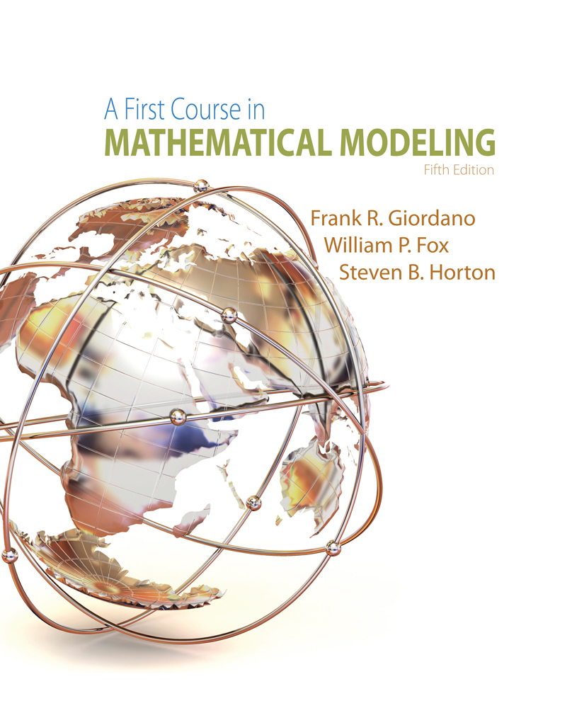 A First Course in Mathematical Modeling - 9781285050904(Print)