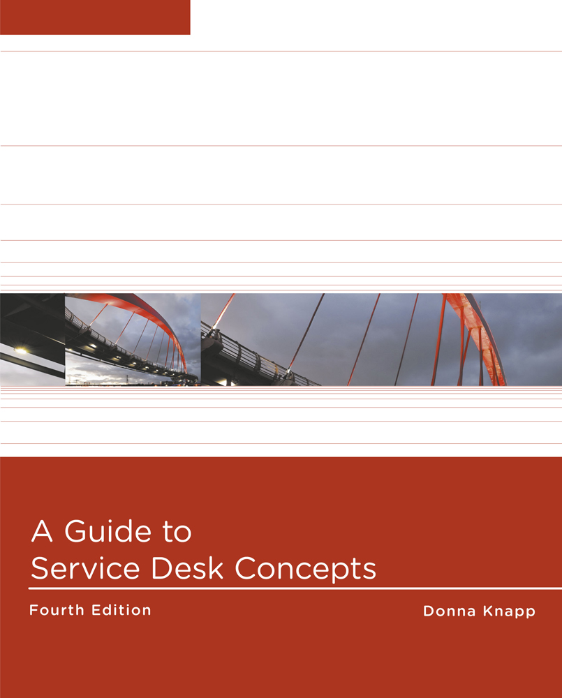 A Guide to Service Desk Concepts - 9781285063454(Print)
