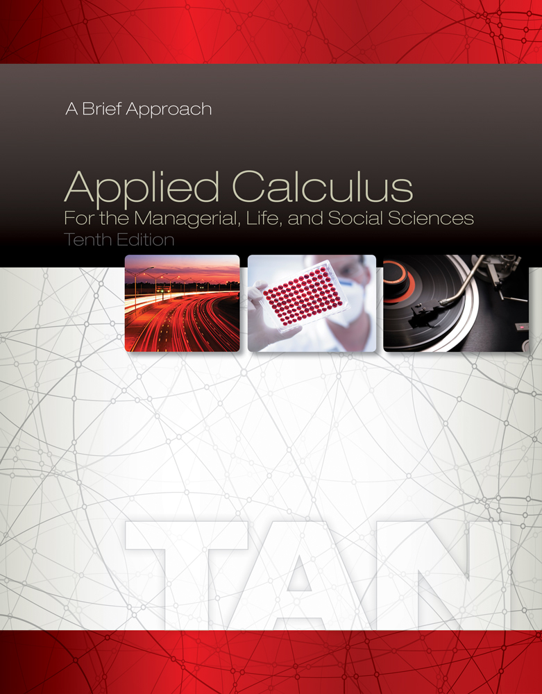 Applied Calculus for the Managerial, Life, and Social Sciences: A Brief Approach - 9781285464640(Print)
