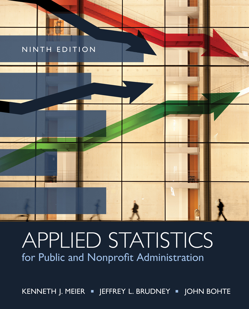 Applied Statistics for Public and Nonprofit Administration - 9781285737232(Print)