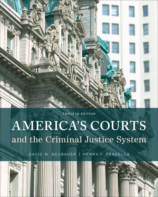 America's Courts and the Criminal Justice System - 9781305261051(Print)