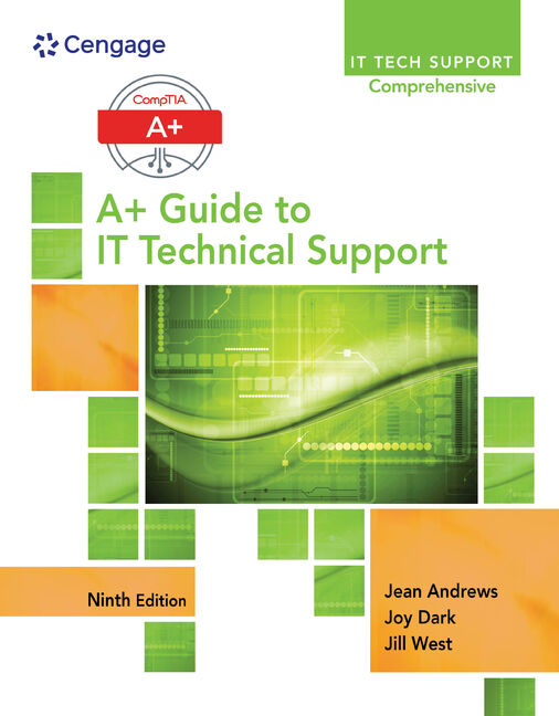 A+ Guide to IT Technical Support (Hardware and Software) - 9781305266438(Print)
