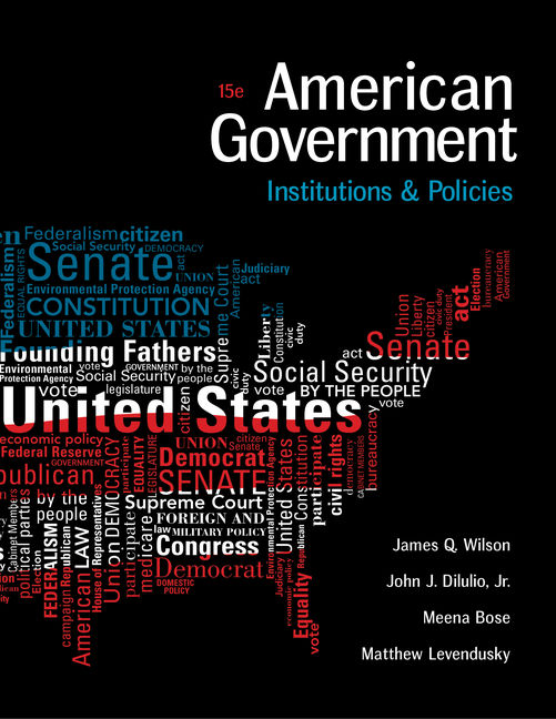 American Government: Institutions and Policies - 9781305500051(Print)