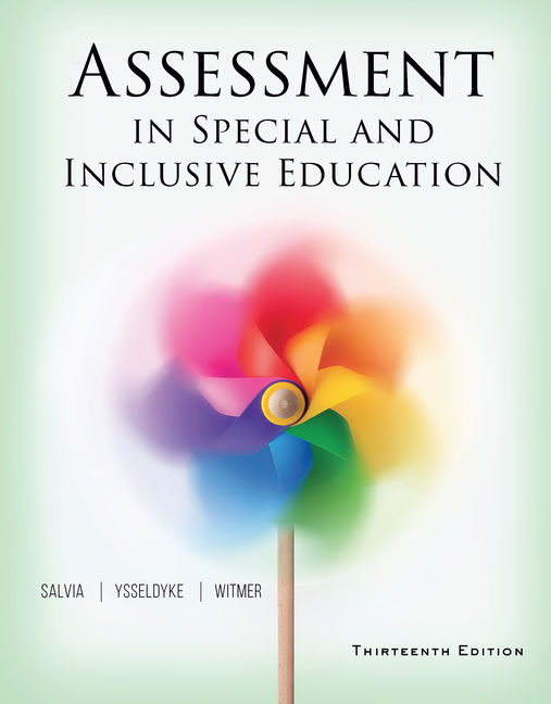 Assessment in Special and Inclusive Education - 9781305642355(Print)