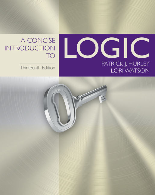 A Concise Introduction to Logic - 9781305958098(Print)