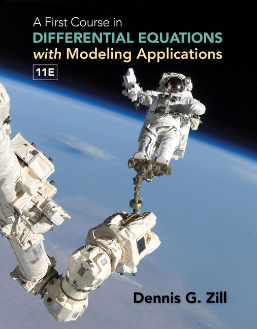 A First Course in Differential Equations with Modeling Applications - 9781305965720(Print)