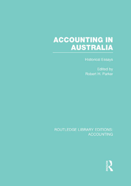 Accounting in Australia - 9781317963929