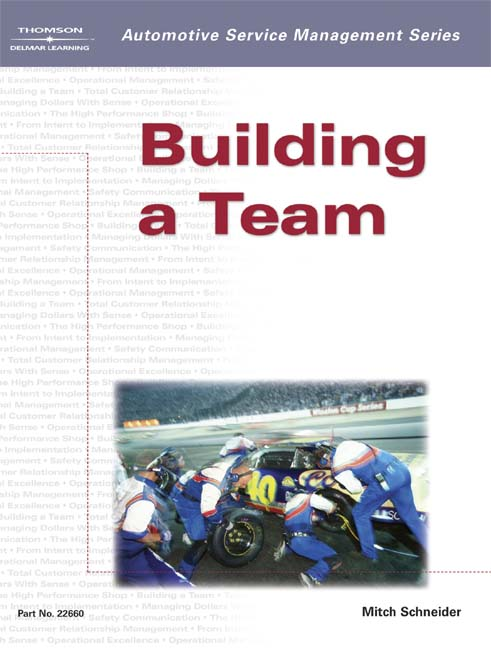 Automotive Service Management: Building a Team - 9781401826604(Print)