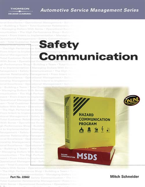 Automotive Service Management: Safety Communications - 9781401826628(Print)
