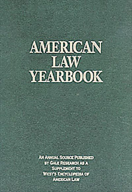 American Law Yearbook: Supplement to West's Encyclopedia of American Law - 9781414422848