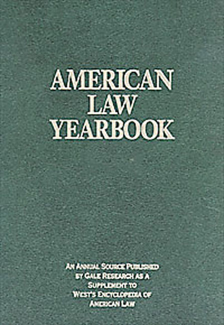American Law Yearbook - 9781414428888