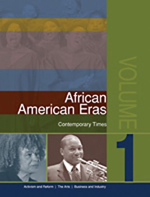 African American Eras Library: Contemporary Times - 9781414437040