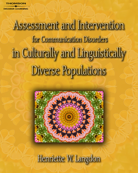 Assessment & Intervention for Communication Disorders in Culturally & Linguistically Diverse Populations - 9781418001391(Print)