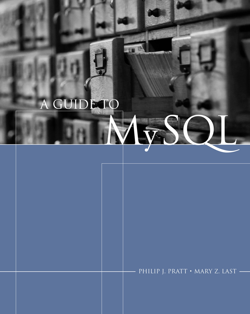 eBook: A Guide To MySQL - 9781133341895(eBook)