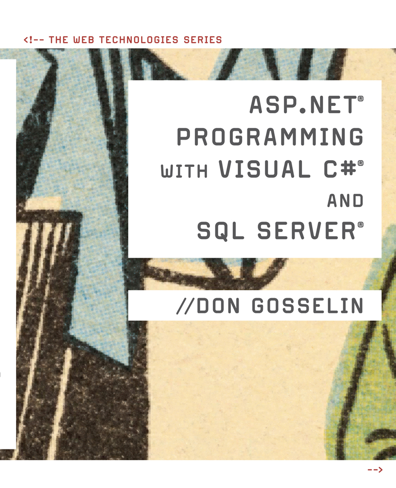 ASP .NET Programming with C# & SQL Server - 9781423903246(Print)