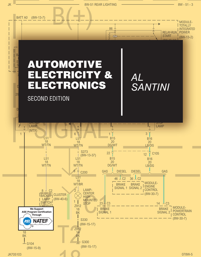 Automotive Electricity & Electronics - 9781428399617(Print)