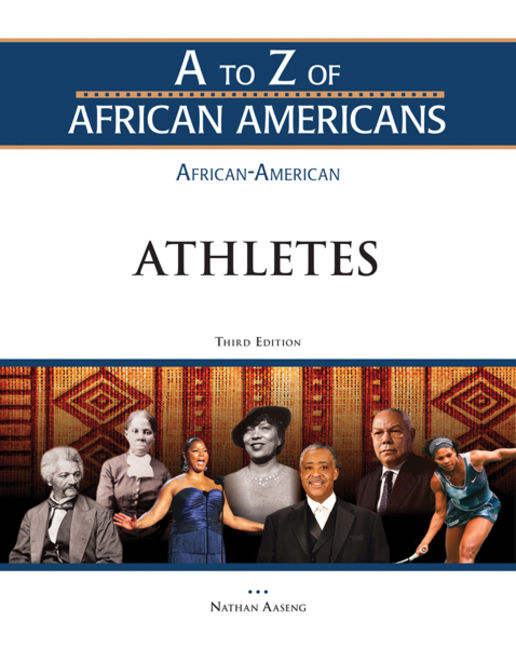 African-American Athletes - 9781438149561