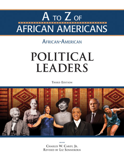 African-American Political Leaders - 9781438149592