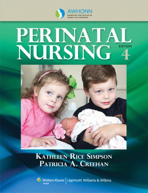 AWHONN's Perinatal Nursing - 9781451179101