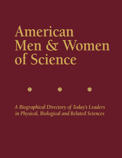 American Men & Women of Science - 9781573028660