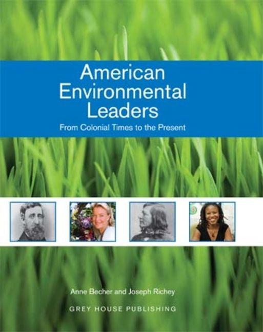 American Environmental Leaders - 9781592372300