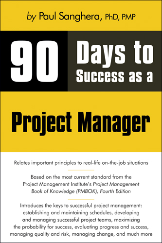 90 Days to Success as a Project Manager - 9781598638691(Print)