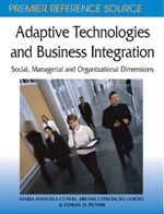 Adaptive Technologies and Business Integration: Social, Managerial, and Organizational Dimensions - 9781599040509