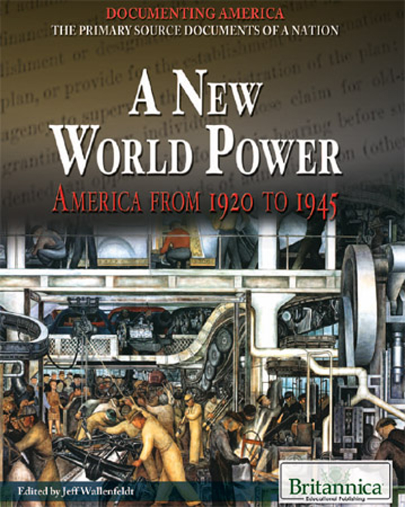 A New World Power - 9781615307401