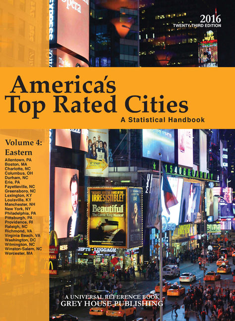 America's Top-Rated Cities 2016 - 9781619259140