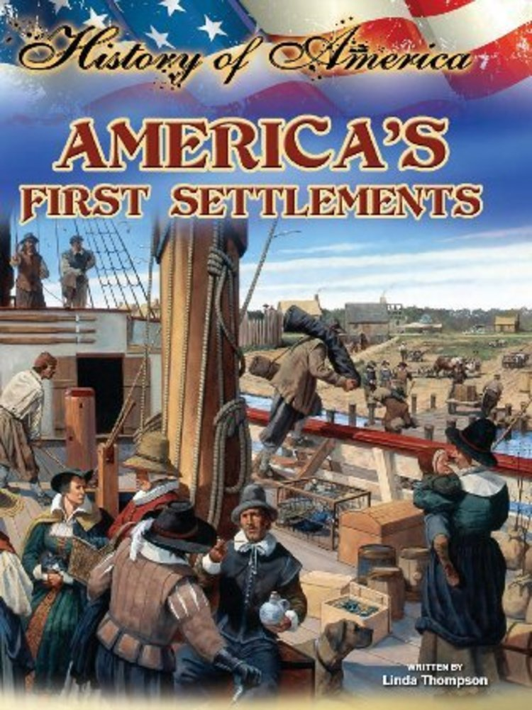 America's First Settlements - 9781621699385