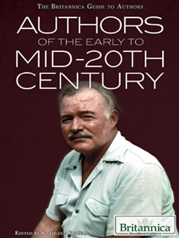 Authors of the Early to mid-20th Century - 9781622750085