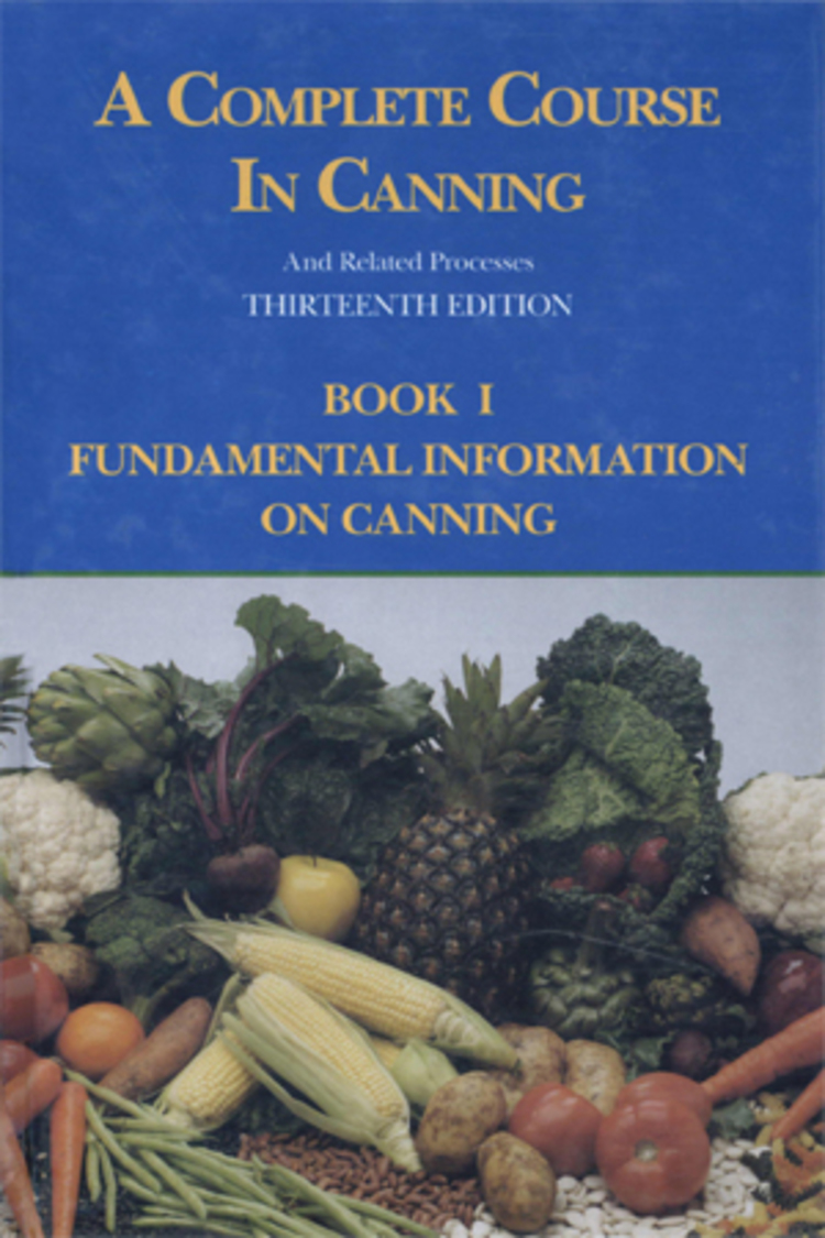 A Complete Course in Canning and Related Processes - 9781845696191