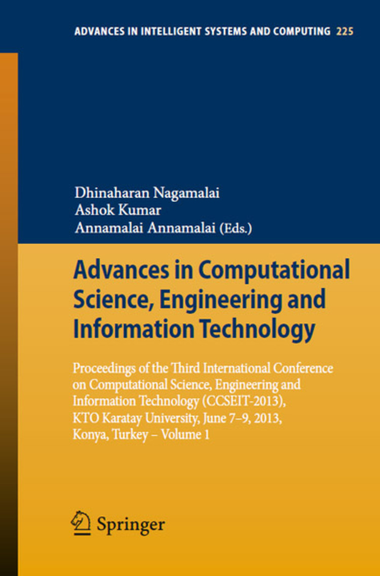 Advances in Computational Science, Engineering and Information Technology - 9783319009513