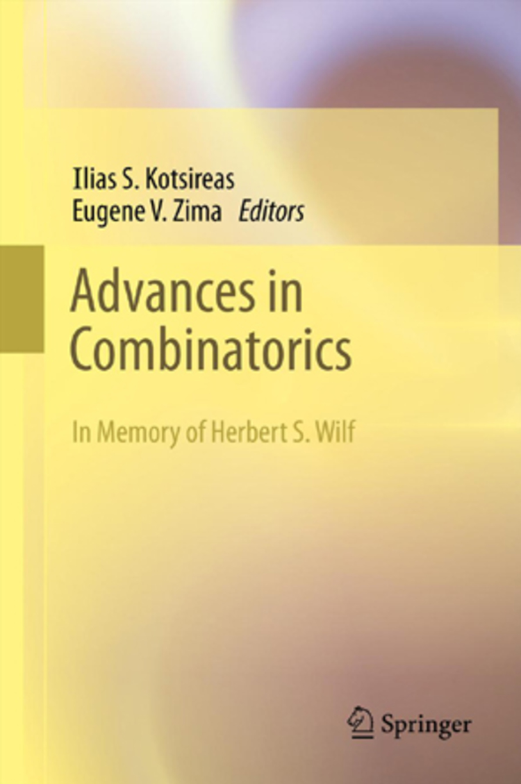 Advances in Combinatorics - 9783642309793