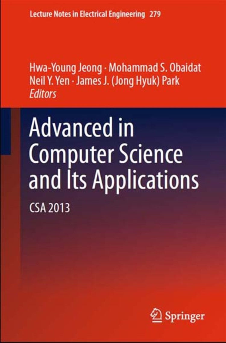 Advanced in Computer Science and its Applications - 9783642416743