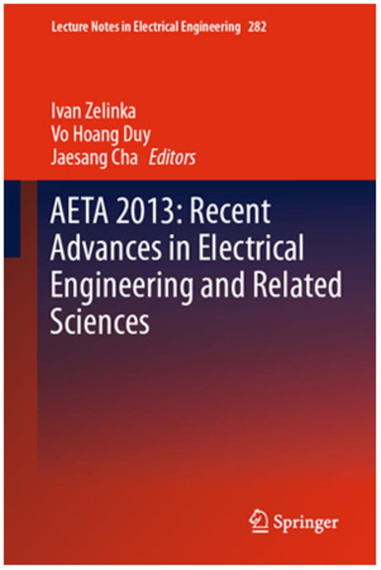 AETA 2013: Recent Advances in Electrical Engineering and Related Sciences - 9783642419683
